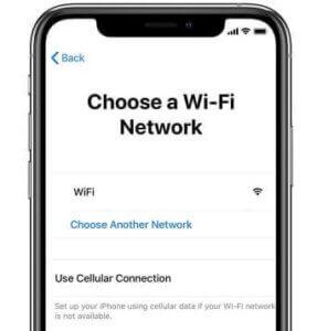 連線WiFi 網路啟用。