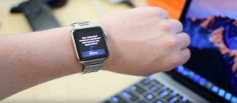 Apple Watch自動解鎖Mac