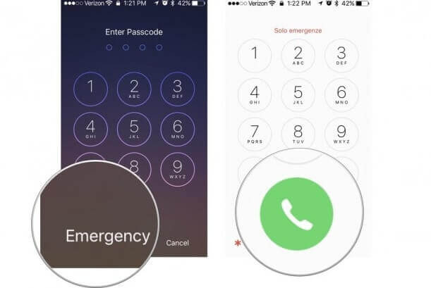 「緊急電話」