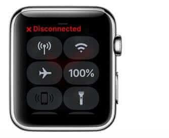 檢查Apple Watch上的連線狀態