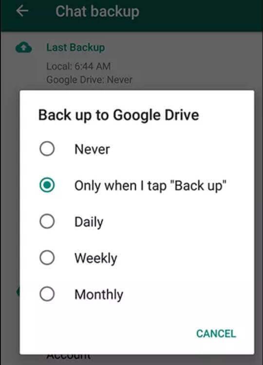 Google Drive 備份
