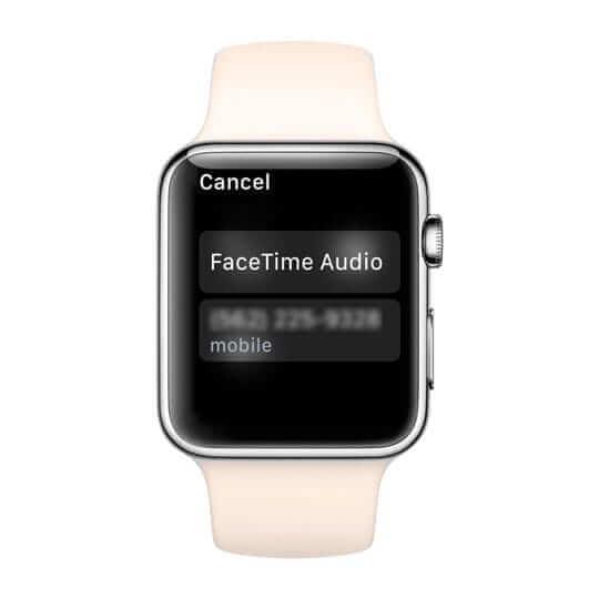 FaceTime音訊通話