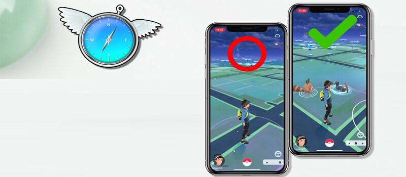 iPhone 上偽裝Pokemon Go 定位