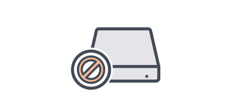 硬碟未顯示在「我的電腦」