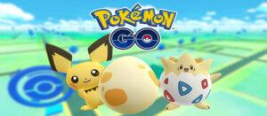 在Pokémon Go 中孵化蛋