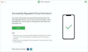 移除iCloud 啟用鎖鎖定