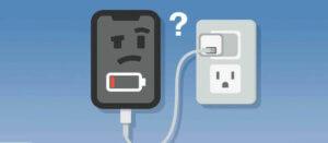 iPhone無法充電
