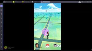 在Blue Stacks 中玩Pokémon Go