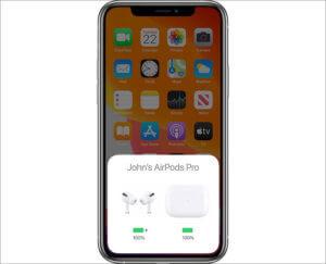 AirPods Pro連線