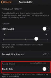Apple Watch對講機應用程式的聲音問題