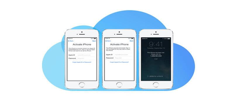 解鎖iCloud鎖定iPhone