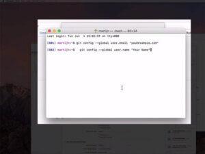 Xcode GIT Config